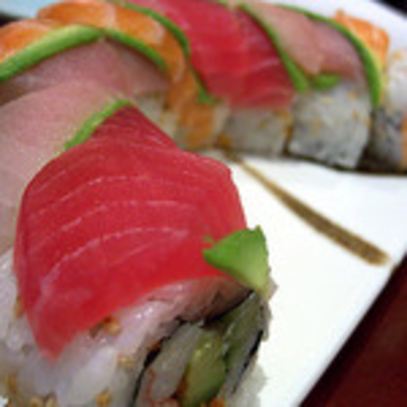 rainbow roll  - Sushi 103: Journey to the West